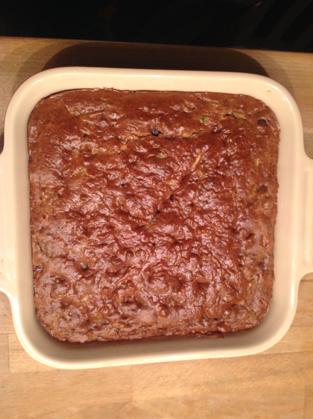Almont Butter Zucchini Brownies